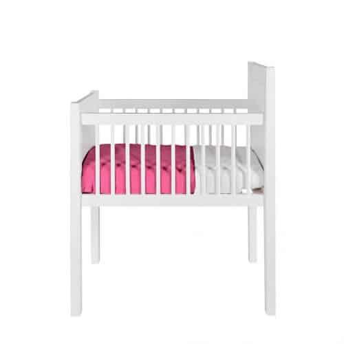 houten wieg wit baby