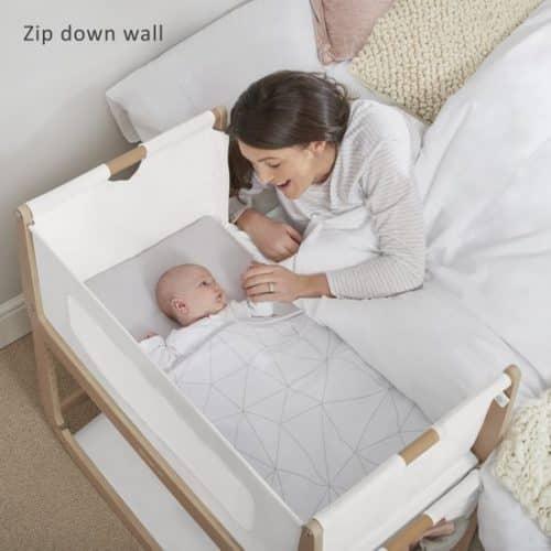 slapen naast je baby